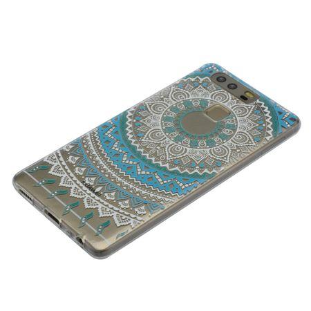 Henna Cover für Huawei Nova 2 Plus Case Schutz Hülle Silikon Sonne Blau – Bild 4