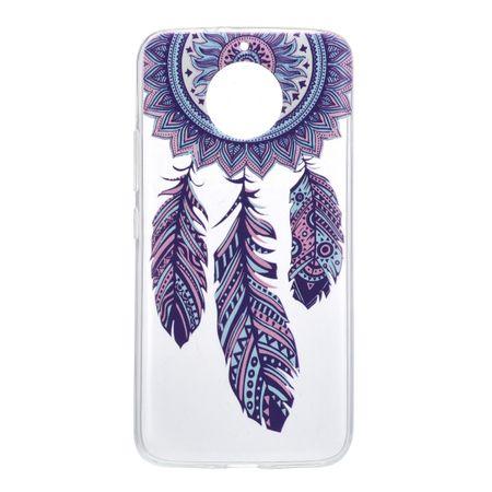 Henna Cover für Motorola Moto G6 Case Schutz Hülle Silikon Traumfänger – Bild 2