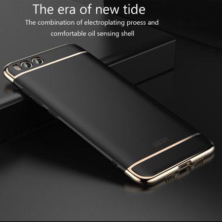 Handy Hülle Schutz Case für Xiaomi Mi 6 Bumper 3 in 1 Cover Chrom Etui Rose Gold – Bild 6