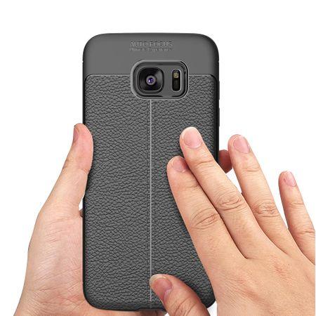 Handy Hülle Schutz Case für Samsung Galaxy S6 Edge Cover Rahmen Etui Rot – Bild 4