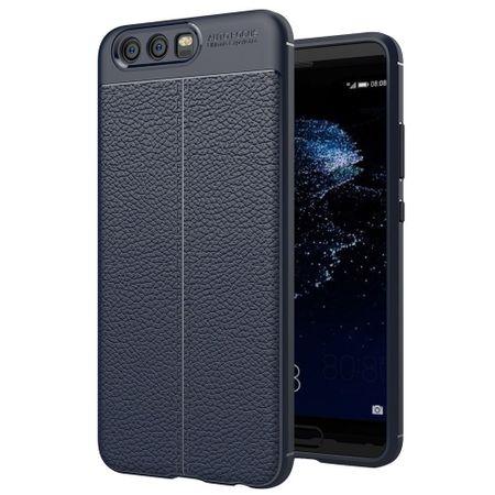 Handy Hülle Schutz Case für Huawei P10 Plus Cover Rahmen Etui Blau