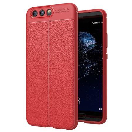 Handy Hülle Schutz Case für Huawei P10 Plus Cover Rahmen Etui Rot – Bild 1