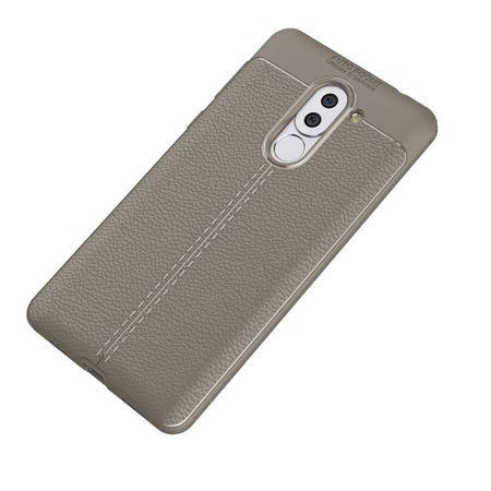 Handy Hülle Schutz Case für Huawei Honor 6X Cover Rahmen Etui Grau – Bild 2