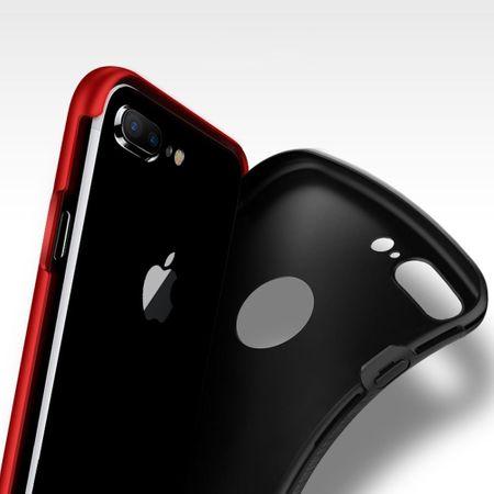 Apple iPhone 5 / 5s / SE 2 in 1 Handyhülle 360 Grad Full Cover Case Schwarz – Bild 3
