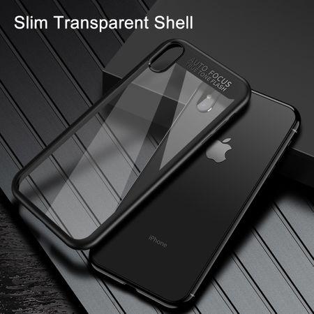 Ultra Slim Case für Apple iPhone X Handyhülle Schutz Cover Schwarz – Bild 6