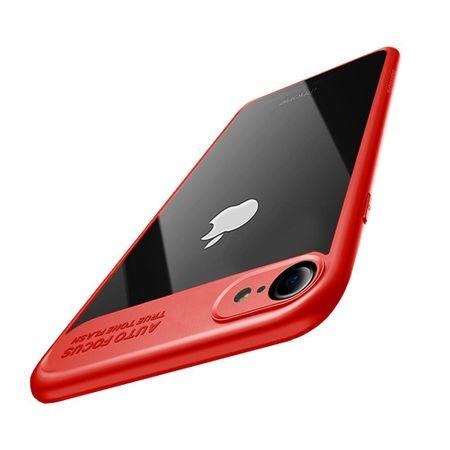 Ultra Slim Case für Apple iPhone 7 / 8 Handyhülle Schutz Cover Rot