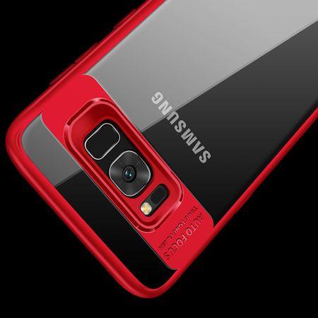 Ultra Slim Case für Samsung Galaxy S8 Handyhülle Schutz Cover Rot