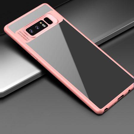 Ultra Slim Case für Samsung Galaxy A8 2018 Handyhülle Schutz Cover Rose