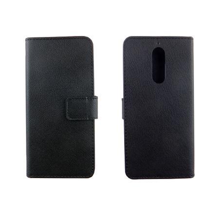 Handyhülle Tasche für Handy Wiko View XL Schwarz – Bild 3