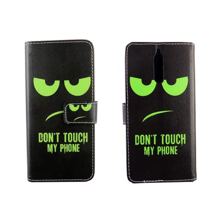 Dont Touch My Phone Handyhülle Huawei Mate 10 Lite Klapphülle Wallet Case – Bild 3