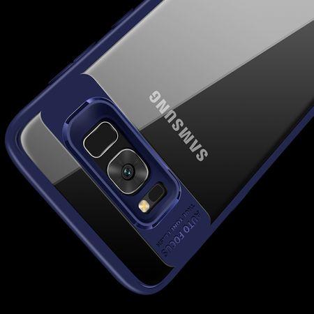 Ultra Slim Case für Samsung Galaxy S9 Handyhülle Schutz Cover Blau