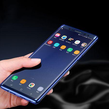 Handy Hülle Schutz Case für Samsung Galaxy Note 8 Durchsichtig Transparent Schwarz – Bild 3
