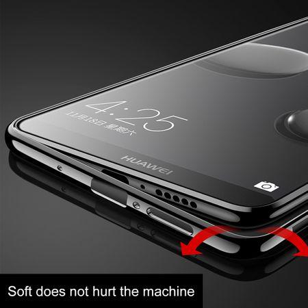 Handy Hülle Schutz Case für Huawei Mate 10 Durchsichtig Transparent Schwarz – Bild 7