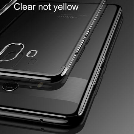 Handy Hülle Schutz Case für Huawei Mate 10 Durchsichtig Transparent Silber – Bild 8