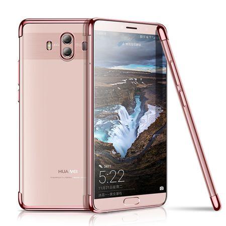Handy Hülle Schutz Case für Huawei Mate 10 Durchsichtig Transparent Rose Pink – Bild 2