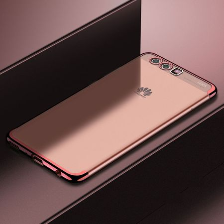 Handy Hülle Schutz Case für Huawei P20 Lite Durchsichtig Transparent Rose Pink – Bild 2