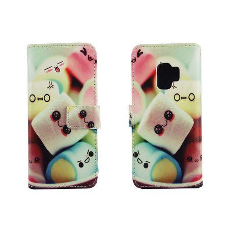 Handyhülle Tasche für Handy Samsung Galaxy S9 Schriftzug Marshmallows – Bild 6