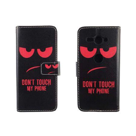 Handyhülle Tasche für Handy Sony Xperia XZ2 Compact Dont Touch My Phone Rot – Bild 3