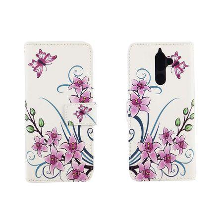 Handyhülle Tasche für Handy Nokia 7 Plus Lotusblume – Bild 3