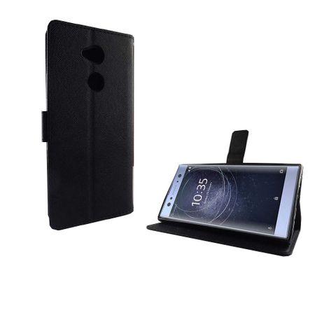 Handyhülle Tasche für Handy Sony Xperia XA2 Ultra Schwarz – Bild 5