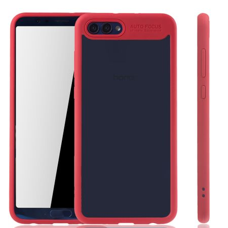 Ultra Slim Case für Huawei Honor View 10 Handyhülle Schutz Cover Rot