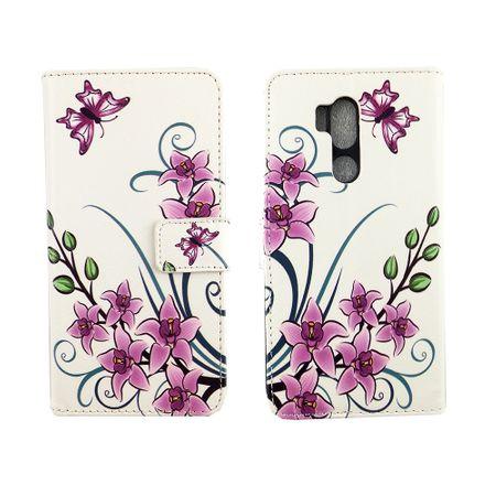 Handyhülle Tasche für Handy LG G7 ThinQ Lotusblume – Bild 6
