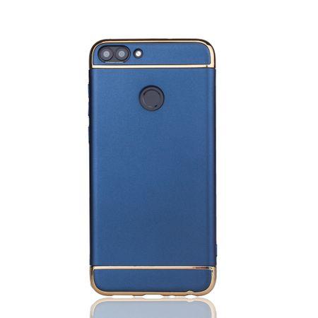 Huawei Honor 7s Handy Hülle Schutz Case Bumper Hard Cover Blau – Bild 2