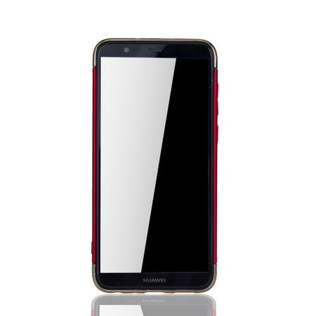 Huawei Honor 7s Handy Hülle Schutz Case Bumper Hard Cover Rot – Bild 3