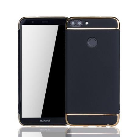 Huawei Honor 7s Handy Hülle Schutz Case Bumper Hard Cover Schwarz