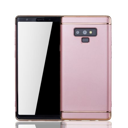 Samsung Galaxy Note 9 Handy Hülle Schutz Case Bumper Hard Cover Pink
