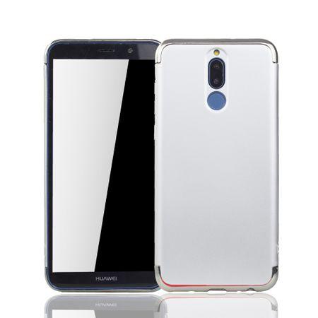 Huawei Mate 10 Lite Handy Hülle Schutz Case Bumper Hard Cover Silber