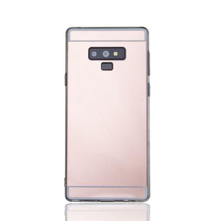 Samsung Galaxy Note 9 Handy-Hülle Spiegel Mirror Soft-Case Schutz-Cover Rose Gold – Bild 2
