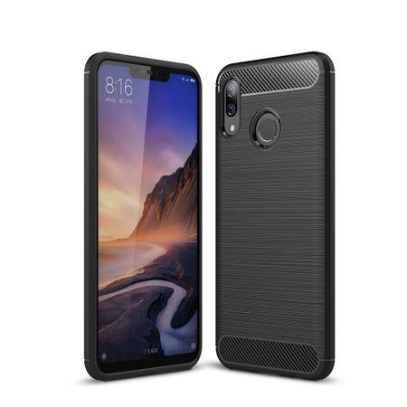 Huawei Nova 3 TPU Case Carbon Fiber Optik Brushed Schutz Hülle Schwarz – Bild 2
