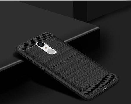Lenovo K8 TPU Case Carbon Fiber Optik Brushed Schutz Hülle Schwarz – Bild 2