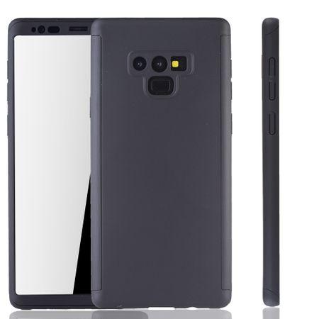 Samsung Galaxy Note 9 Handyhülle Schutzcase Full Cover 360 Displayschutz Folie Schwarz