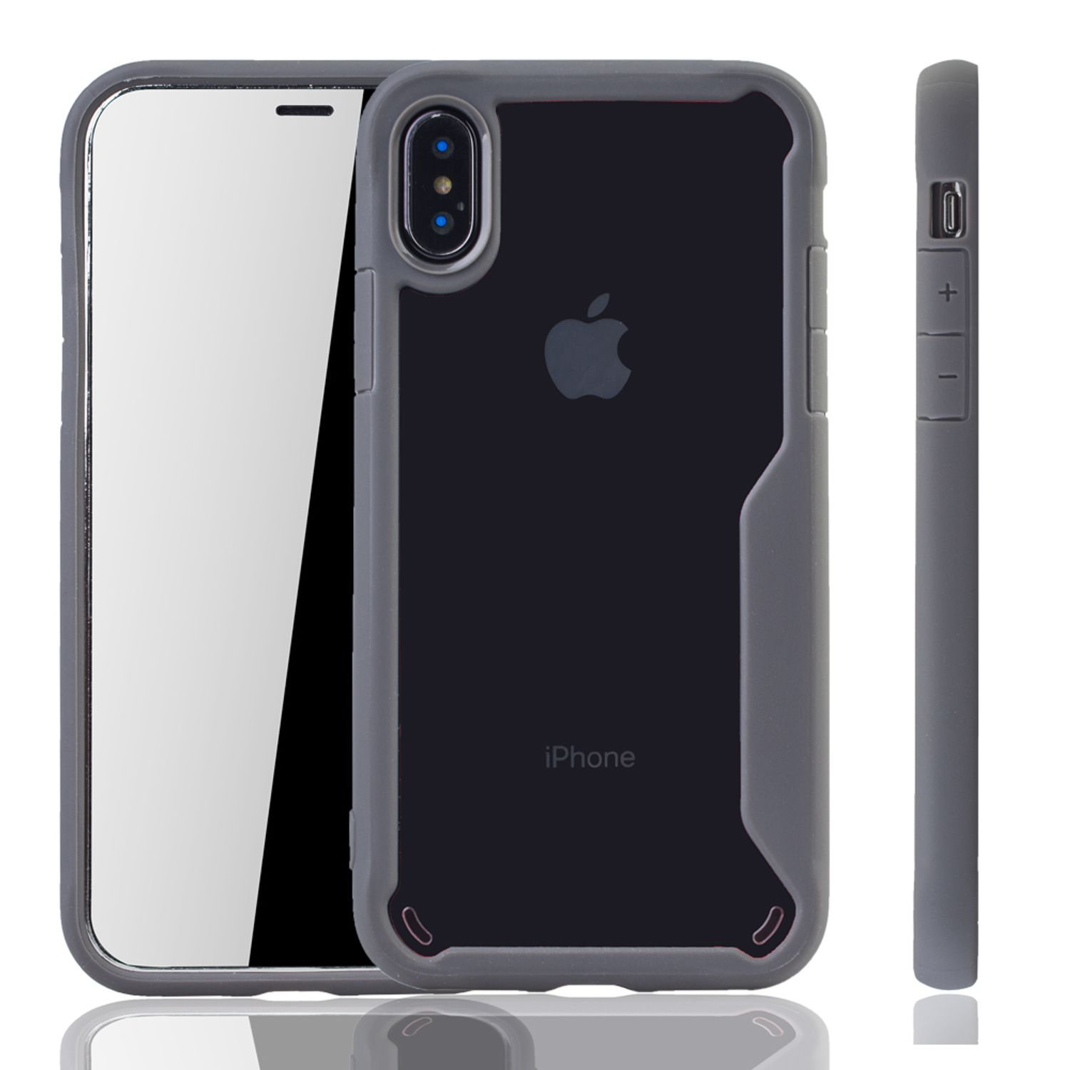 graue premium apple iphone x iphone xs hybrid editon. Black Bedroom Furniture Sets. Home Design Ideas