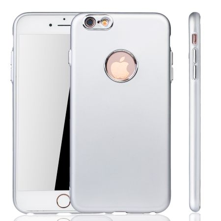 Apple iPhone 6 / 6s Plus Hülle - Handyhülle für Apple iPhone 6 / 6s Plus - Handy Case in Silber