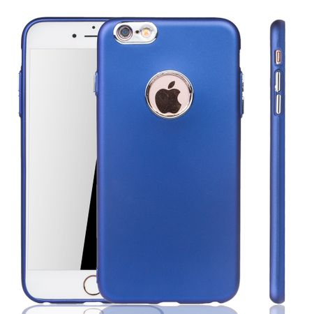 Apple iPhone 6 / 6s Plus Hülle - Handyhülle für Apple iPhone 6 / 6s Plus - Handy Case in Dunkelblau