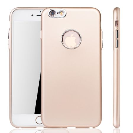 Apple iPhone 6 / 6s Plus Hülle - Handyhülle für Apple iPhone 6 / 6s Plus - Handy Case in Gold