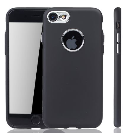 Apple iPhone 7 / 8 Hülle - Handyhülle für Apple iPhone 7 / 8 - Handy Case in Schwarz – Bild 1