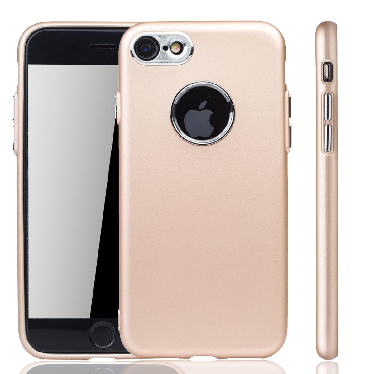 apple iphone 7 8 h lle handyh lle f r apple iphone 7 8 handy case in gold. Black Bedroom Furniture Sets. Home Design Ideas
