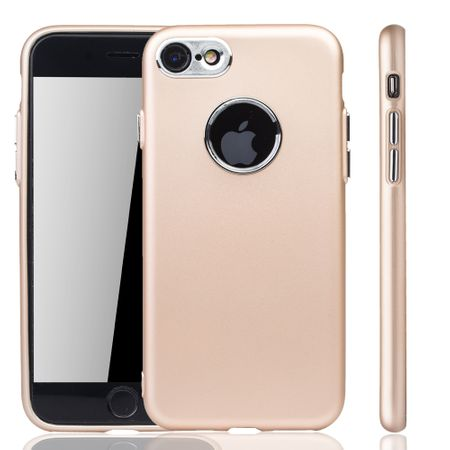Apple iPhone 7 / 8 Hülle - Handyhülle für Apple iPhone 7 / 8 - Handy Case in Gold – Bild 1