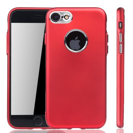 Apple iPhone 7 / 8 Hülle - Handyhülle für Apple iPhone 7 / 8 - Handy Case in Rot – Bild 1