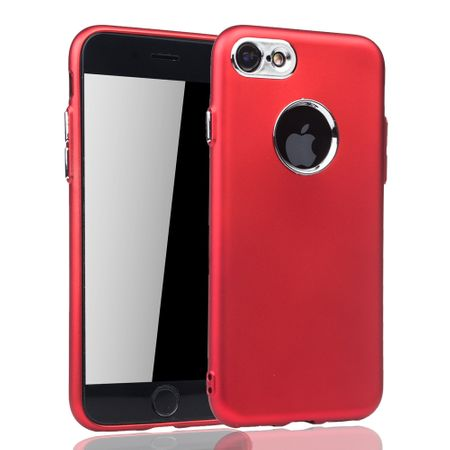 Apple iPhone 7 / 8 Hülle - Handyhülle für Apple iPhone 7 / 8 - Handy Case in Rot – Bild 2