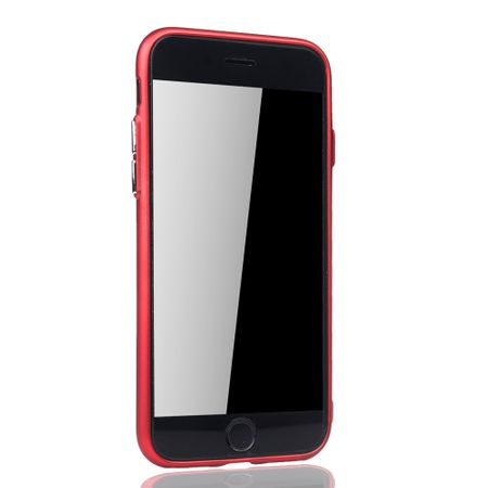 Apple iPhone 7 / 8 Hülle - Handyhülle für Apple iPhone 7 / 8 - Handy Case in Rot – Bild 3