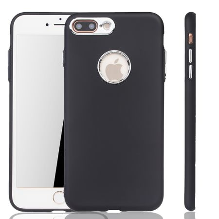 Apple iPhone 7 / 8 Plus Hülle - Handyhülle für Apple iPhone 7 / 8 Plus - Handy Case in Schwarz