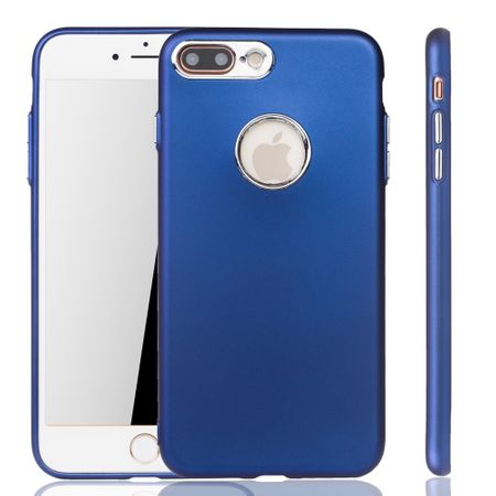 Apple iPhone 7 / 8 Plus Hülle - Handyhülle für Apple iPhone 7 / 8 Plus - Handy Case in Dunkelblau