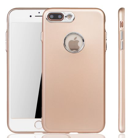 Apple iPhone 7 / 8 Plus Hülle - Handyhülle für Apple iPhone 7 / 8 Plus - Handy Case in Gold