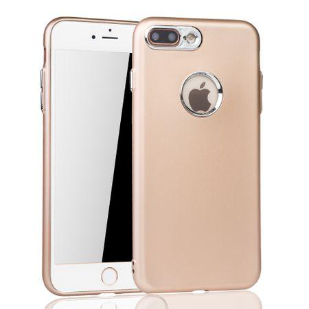 Apple iPhone 7 / 8 Plus Hülle - Handyhülle für Apple iPhone 7 / 8 Plus - Handy Case in Gold – Bild 2