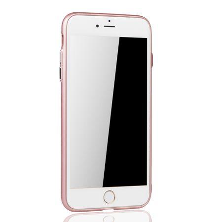 Apple iPhone 7 / 8 Plus Hülle - Handyhülle für Apple iPhone 7 / 8 Plus - Handy Case in Rose Pink – Bild 3